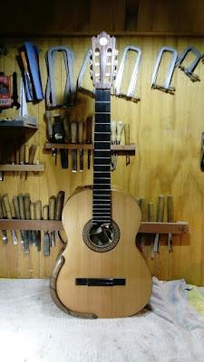 Guitarra Antilko del luthier Claudio Rojas - de frente