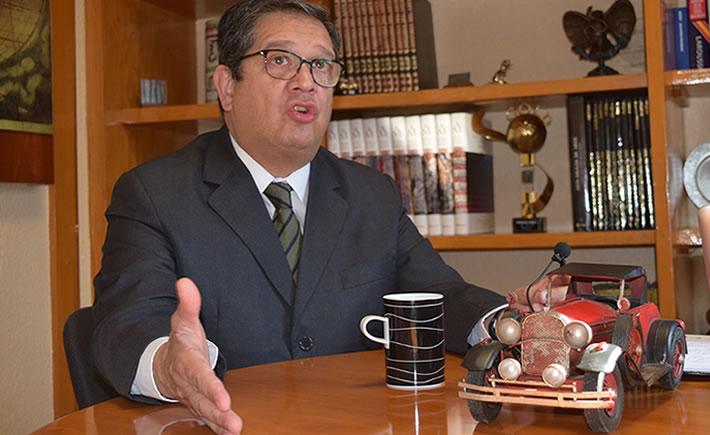 Oscar Albín, presidente Ejecutivo de la INA. (Foto: VI)