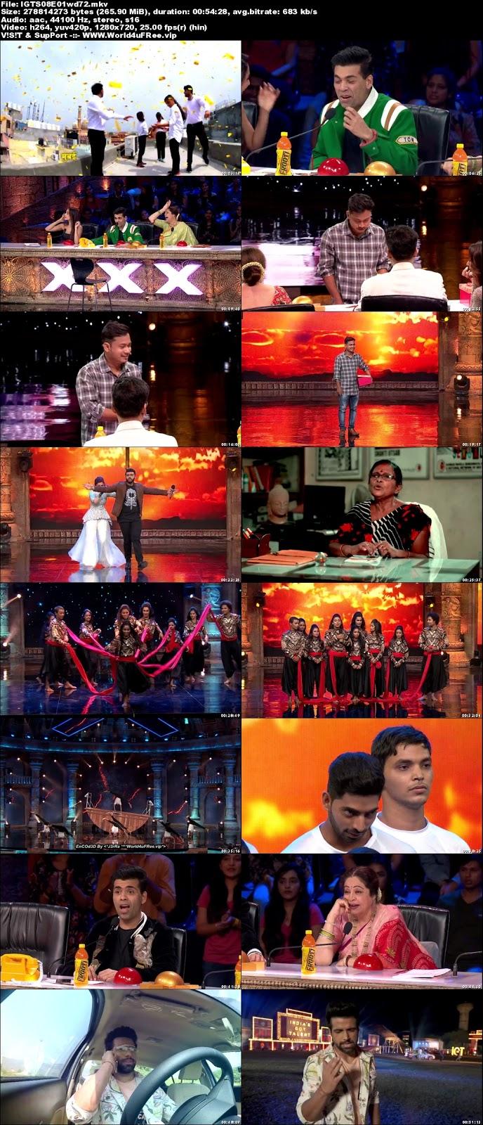 India's Got Talent S08 Episode 01 720p WEBRip 250mb x264 world4ufree.funtv show India's Got Talent Season 8 Star Plus tv show HD 720p free download or watch online at world4ufree.fun