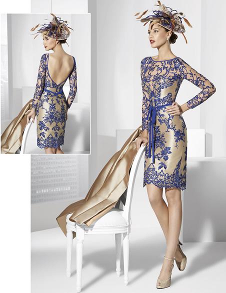 027ce4c59 Nuestro consejo para aquellas que se decidan por esta opción para sus  Vestidos de Madrina es que escojáis los zapatos del mismo color que el  fondo del ...
