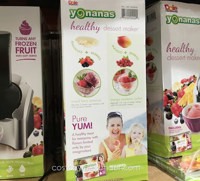 Forget going to JambA Juice when you have Yonanas Healthy Frozen Dessert Maker