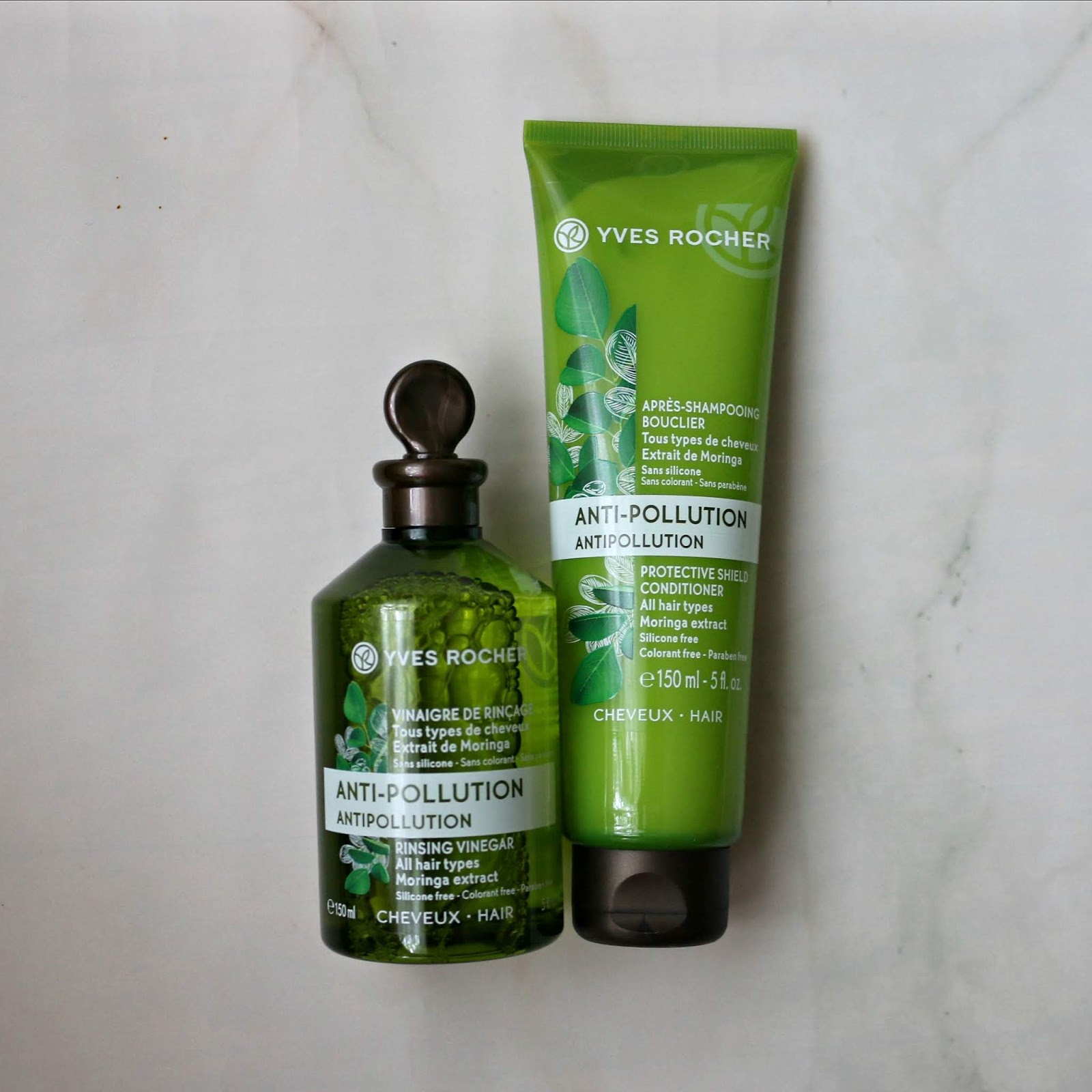 Yves Rocher Antipollution Rinsing Vinegar Detox Protective Shield Conditioner