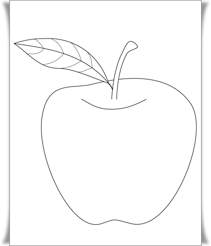 8800 Fun Apple Coloring Pages Download Free Images