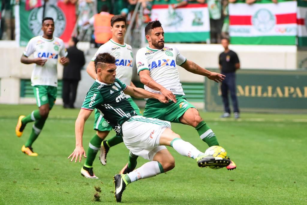 O Palmeiras não receberá nada para enfrentar a Chapecoense no dia 21 de janeiro (Foto: Sergio Barzaghi/Gazeta Press)