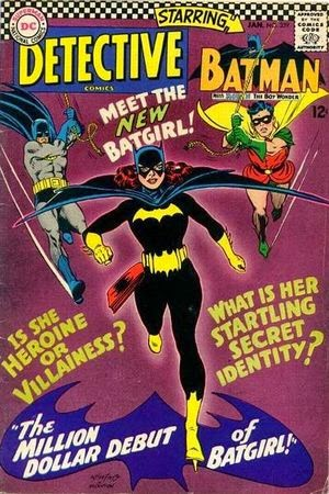 Detective Comics #359 1st Batgirl comic cover