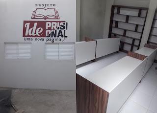 Sala de leitura destinada à Remição da Pena será inaugurada na Cadeia de Soledade