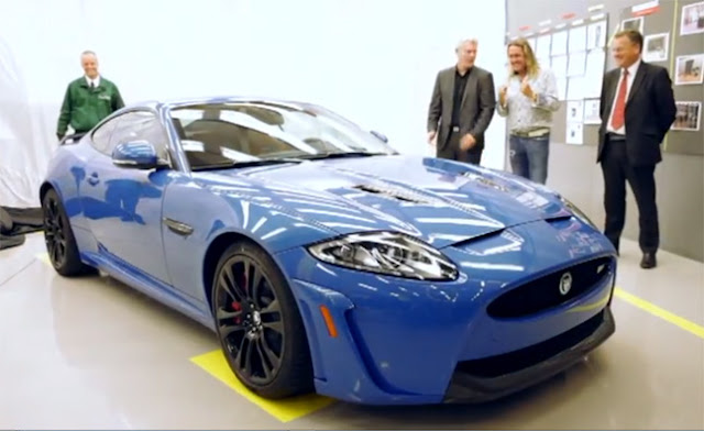 2013 Jaguar XKR-S Nicko McBrain Edition