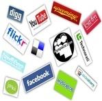 icones sociais horizontais