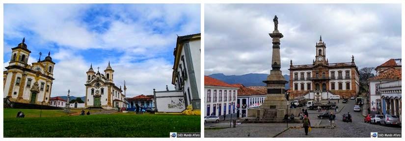 Mariana e Ouro Preto - Minas Gerais - Retrospectiva 2016 de viagens