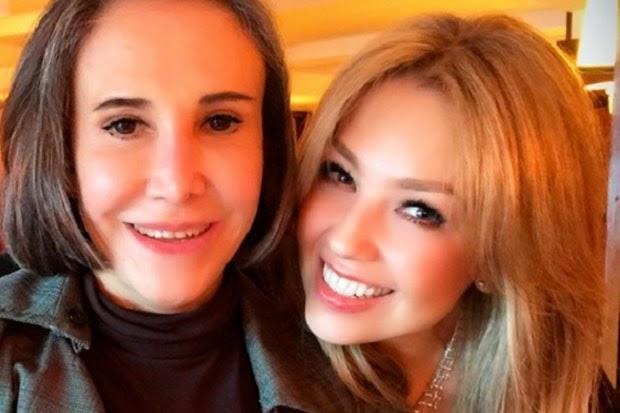 florinda meza posando con thalia instagram cirugia
