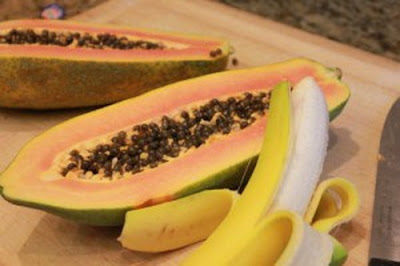 Cara Meluruskan Rambut Tanpa Rebonding Secara Alami dengan pisang dan pepaya
