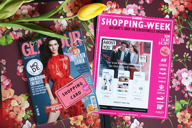glamour shopping week april 2017 promocodes