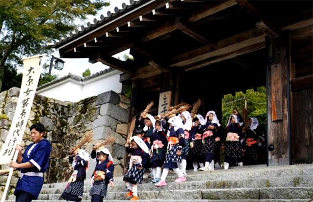 Oharame Matsuri, at various places around Ohara, Kyoto