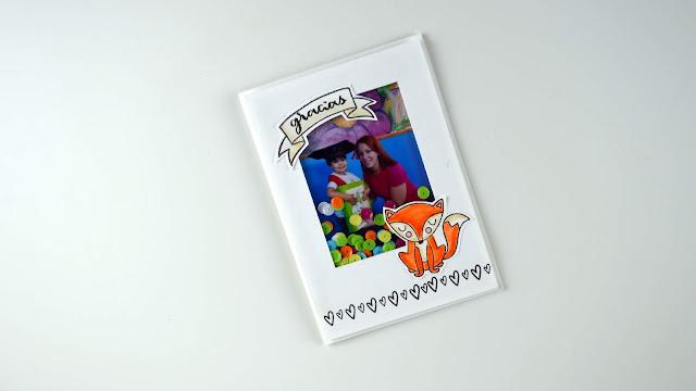 shaker card con foto