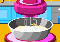 لعبة بنات طبخ كاب كيك