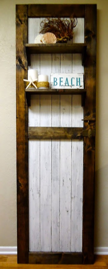 Rustic Door with Vintage Door Knob/Deadbolt - SOLD