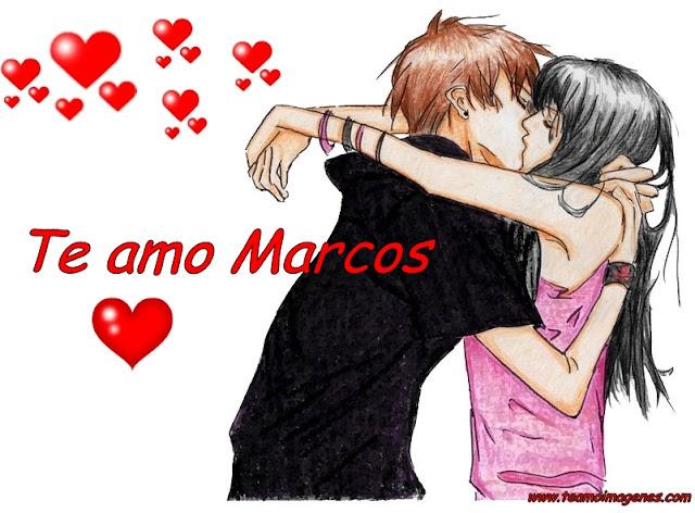 te amo Marcos