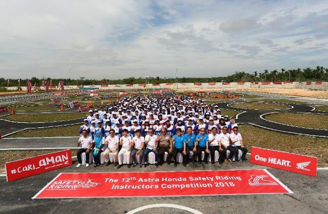 AHM Safety Riding 2018 Pekanbaru Riau