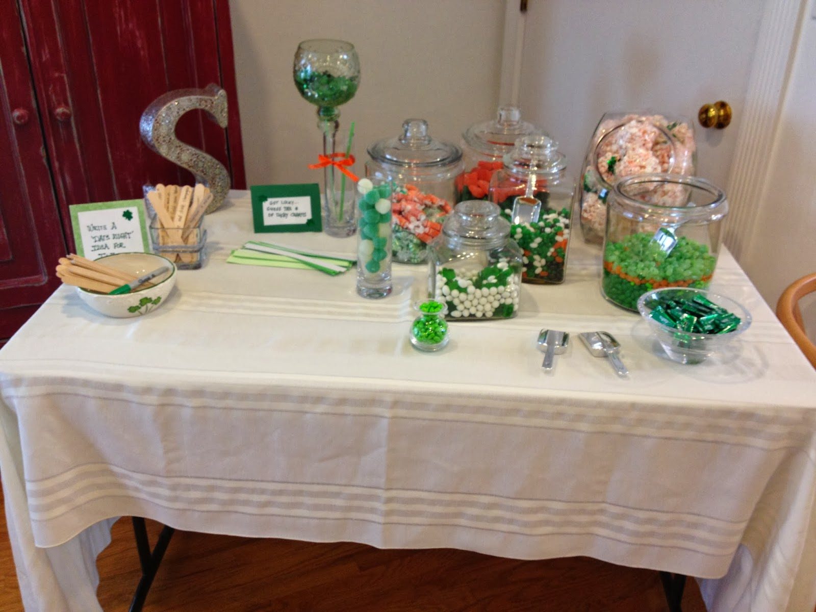 Lucky In Love Bridal Shower Inspiration Clothesline