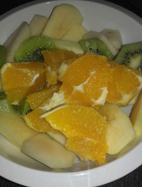 Ensalada de frutas del tiempo