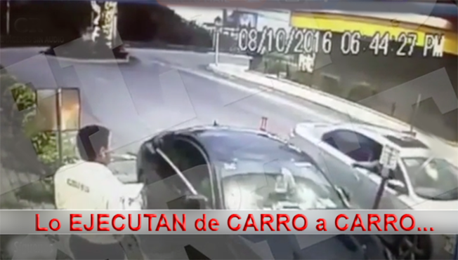 """Video Ejecución de """"El Manny"""" sobrino de Osiel Cárdenas Guillén"""