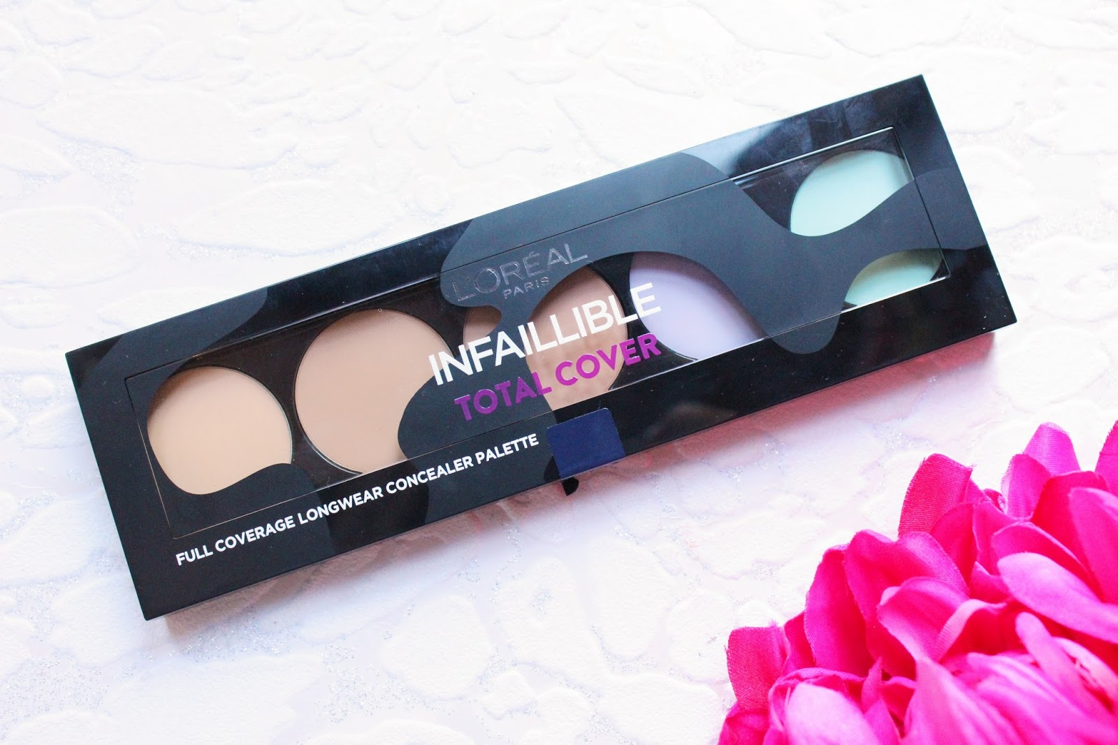 L'Oreal Infallible Total Cover Concealer Palette