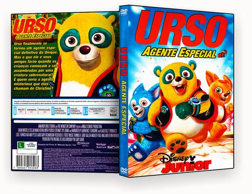 CAPA DVD – Urso Agente Especial – ISO