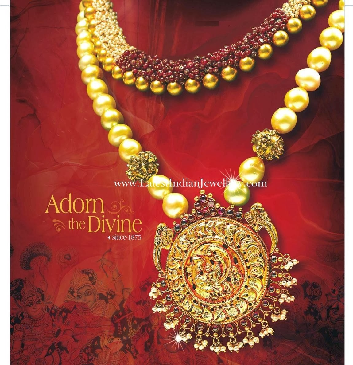 Antique Gold Jewellery with Pearls
