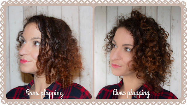 coiffure cheveux boucles plopping