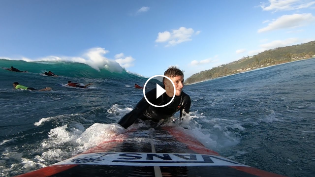 FULL RAW WAIMEA SESSION GOPRO POV