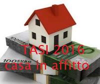 tasi 2016 per casa in affitto: l'inquilino paga?