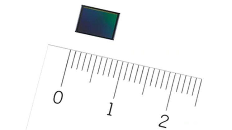 Размер CMOS-сенсора Sony IMX586