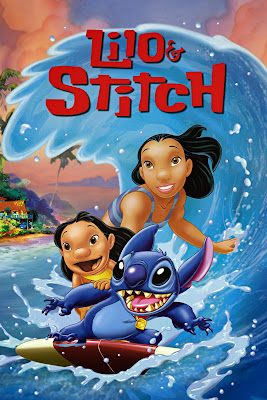 Poster Of Lilo & Stitch (2002) In Hindi English Dual Audio 100MB Compressed Small Size Mobile Movie Free Download Only At worldfree4u.com