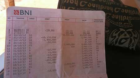 Biaya Cek Saldo BNI di Mesin ATM Bank Mandiri?