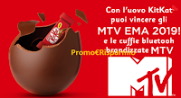 Logo Concorso ''KitKat e MTV'': vinci 20 cuffie bluetooth di MTV del valore di 180€ ciascuna e non solo!