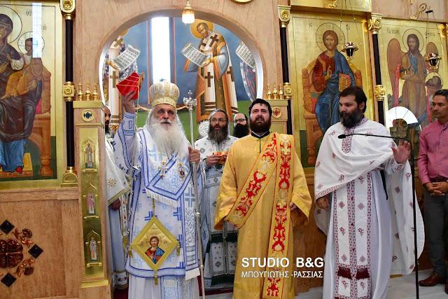 Ναύπλιο: Η πρώτη χειροτονία Διακόνου στον Ιερό ναό του Αγίου Λουκά από τον Μητροπολίτη Αργολίδος