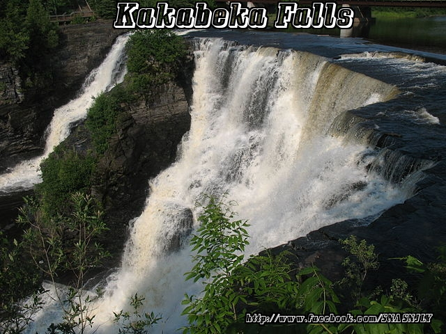 Kakabeka Falls,Ontario,Beautiful scenery