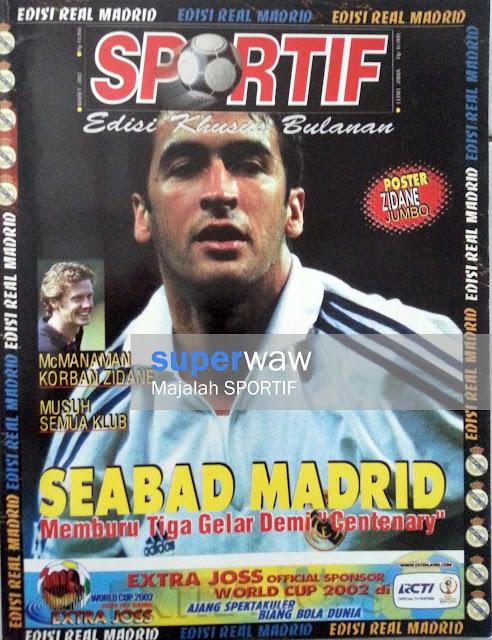 Majalah SPORTIF: SEABAD MADRID