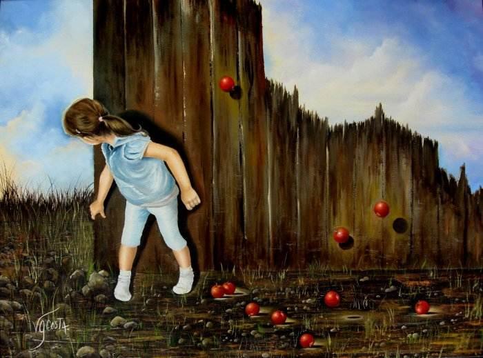 Аргентинская художница. Virginia Garcia Costa