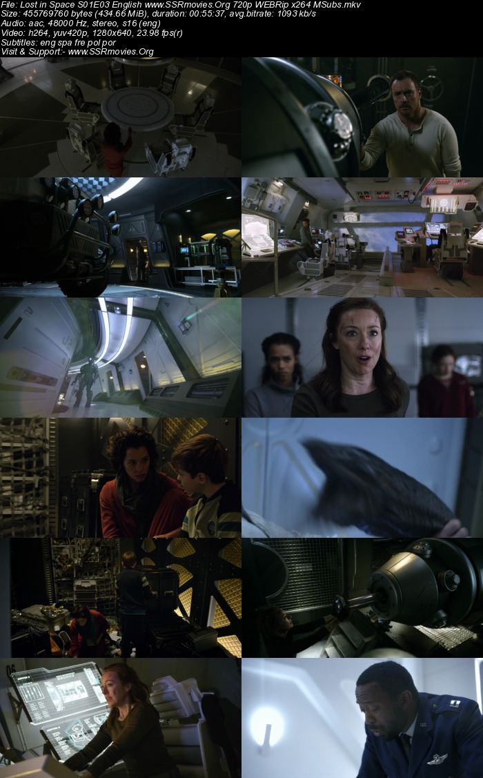 Lost in Space S01E03 English 720p WEBRip x264 400MB MSubs ...