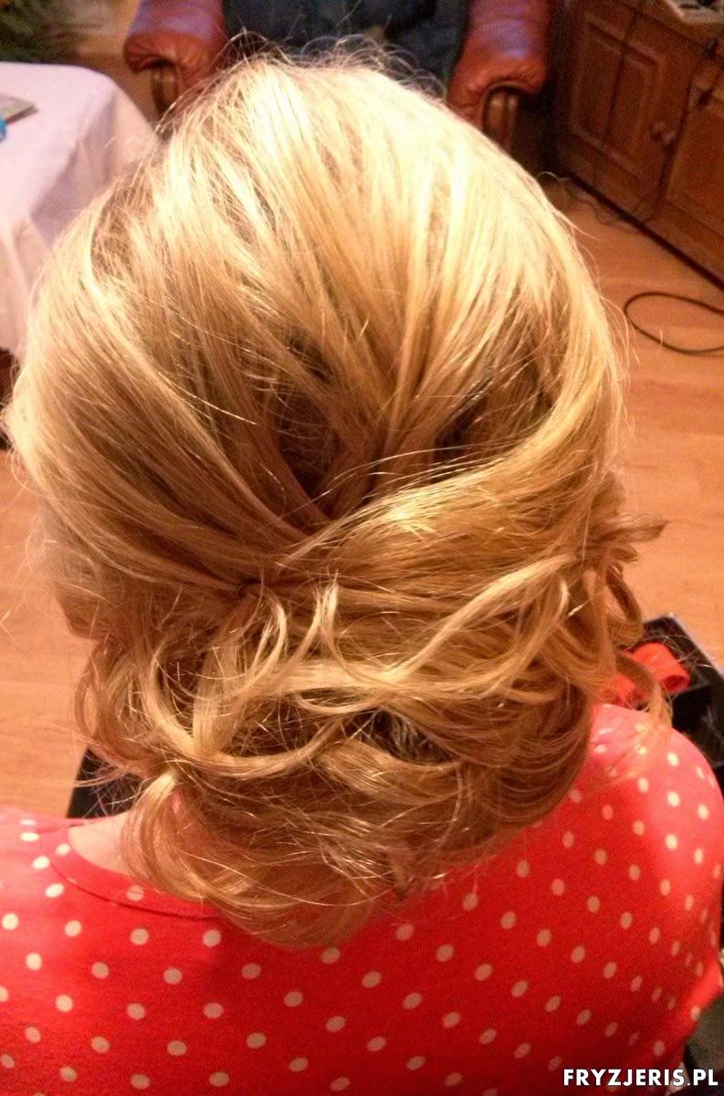 Fryzury Studniówkowe Upięcie Blog O Włosach Fryzjeris
