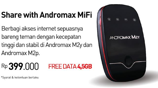 Kenyamanan Menggunakan Modem 4G Andromax Mifi