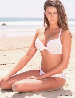 Zita Vass has huge tits boobs in bikini for Maxim South Africa 2016