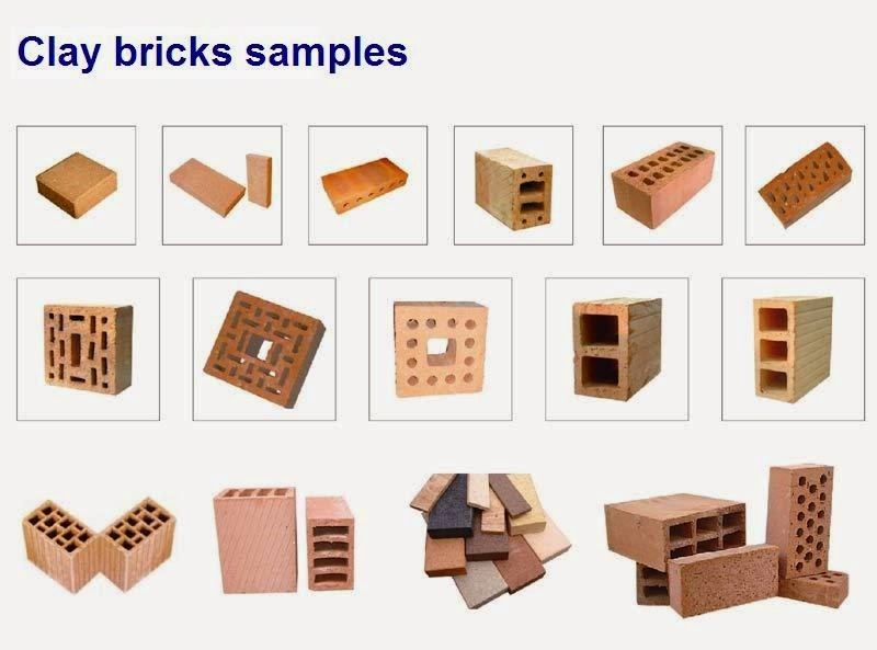 Clay Bricks Samples