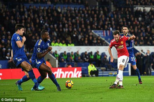 """Video Leicester - MU: Cú đúp siêu phàm, """"vỡ tim"""" phút 94"""