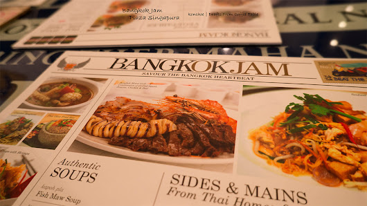 Drafts from My Coffee Table: Singapore Food Blog - Bangkok Jam @ Plaza Singapura
