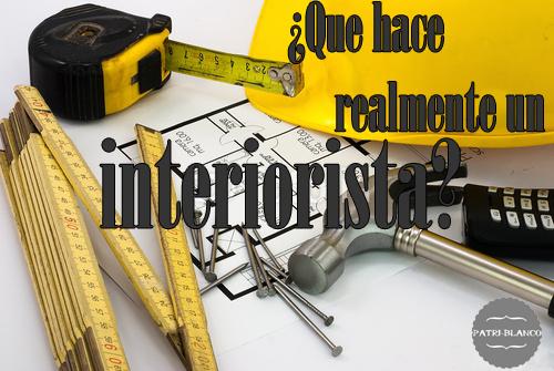 ¿Que hace realmente un interiorista?