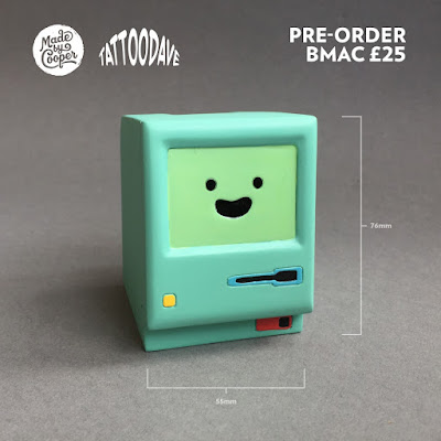Adventure Time bMac Resin Figure by Tattoo Dave