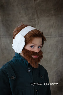kid van gogh costume