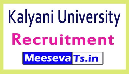 Kalyani University Recruitment